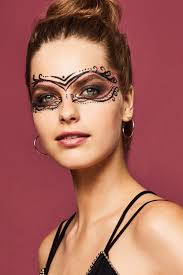 3 cool halloween masks you can create with just makeup