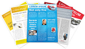 Printed Company Newsletter Free Templates Worddraw Free Printable
