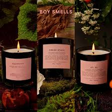 Et Al Designs Beeswax Candles Boy Smells Votive Candle Set Redwood Cedar Stack St Al 25 Hour Long Burning Candles Gift Set All Natural Beeswax Coconut Wax Candle
