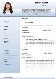 Rt1003 Job Resume Format
