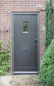 grey front doorImage result for grey front door with on red brick facade ireland