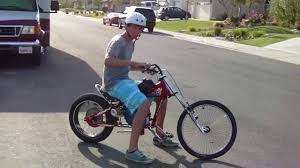 6 5hp chopper bike youtube