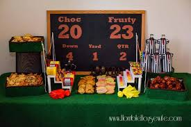 Super Bowl Party Decorating Ideas Super Bowl Party Ideas Trash Can Cookie Recipe 27