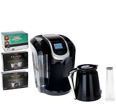 Coffee Maker K Cup And Pot Keurig 20 K350 Coffee Maker W 24 K Cup Pods 4 K Carafe Pods