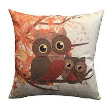 Owl Throw Pillow Covers