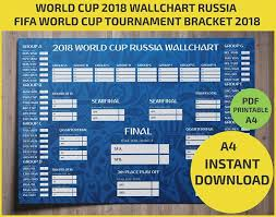 World Cup Planner Chart 2018 World Cup 2018 Wallchart Download Or Print Off Your B