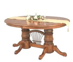 54 inch round dining table seats how many pedestal glass off white kitchen with leaf parfondeval