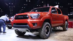 2015 Toyota Tundra, Tacoma and 4Runner TRD PRO - 2014 Chicago Auto ...