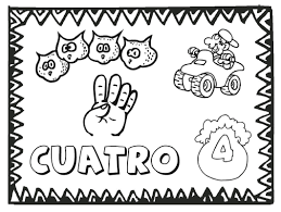 Small Picture Free Numbers to 12 Coloring Pages Printable Spanish