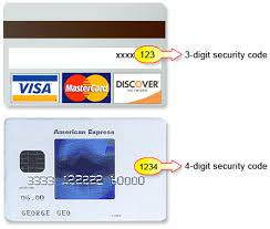 Credit Card Security Code Anthony Travel