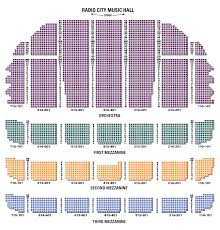 Radio City Music Hall New York Seating Chart Radio City Msg Ticketmaster Seating Charts Christmas