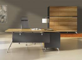 best modern office furniture. CADO Modern Furniture - 400 Collection Executive Desk With Return Cabinet Best Office T