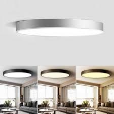 Modern Bathroom Ceiling Lighting Led Ceiling Light Living Room Bathroom Modern Round Adjustable Roof Mount Lamp New