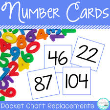 Hundreds Pocket Chart Replacement Cards Pocket Chart Number Cards To 180 By Ks Classroom Kreations