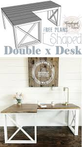 how to diy office desk l shaped woodworking plans