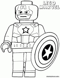 Small Picture Awesome Lego Marvel Coloring Pages Gallery New Printable