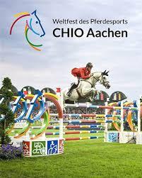 It is also called weltfest der pferdesports (world equestrian festival). Weltfest Des Pferdesports Chio Aachen Deutschland Zu Pferd