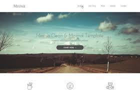 free html5 web template 100 best free responsive html5 css3 templates 2017