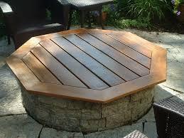 elegant outdoor fire pit on wood deck best 25 firepit ideas ideas on diy firepit