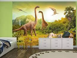 wall mural dinosaurs for children