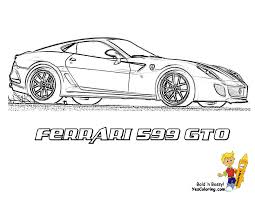 Ferrari Colouring Pages To Print With Ferrari Laferrari Coloring