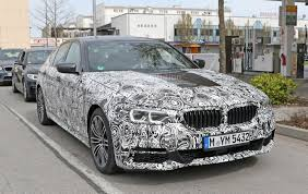 Spyshots: 2017 BMW 5 Series Shows Front Bumper, M Sport Pack and ...