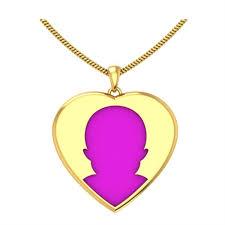 photo engraved heart gold name pendant gold pendants for women gold pendants zomint