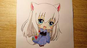 Vẽ Tranh Anime Chibi Cute Dễ Vẽ - Novocom.top