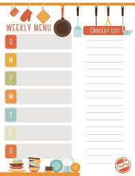 menu planner template free get a free printable weekly meal planner on bluprint