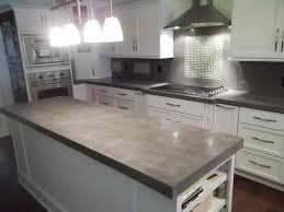 concrete countertop finishes style
