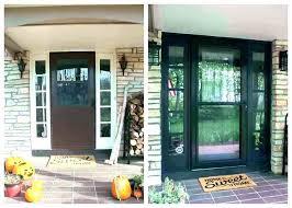Front Door Lights Modern Side Outside With Sensor Motion Light S M