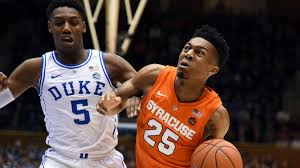 Duke Vs Syracuse Score Orange Upset No 1 Blue Devils In