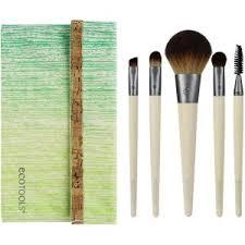 ecotools bamboo makeup brush set 6 piece