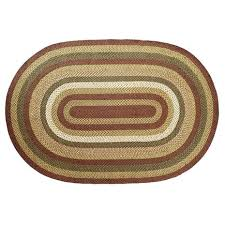 tea cabin jute oval rug uk