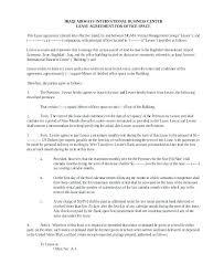 basic lease agreement template studio rental agreement template studio rental agreement template
