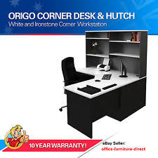 office corner desk with hutch. Office Corner Workstation Desk With Hutch, Home Furniture Computer Study Desks Hutch