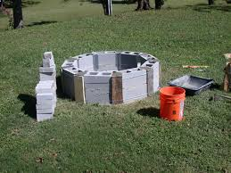 how to build an outdoor fireplace with cinder blocks luxury elegant can i use cinder blocks