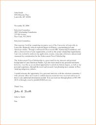 Stunning Design Cover Letter For Scholarship 2 Online Writing Lab