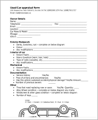 Appraisal Templates Enchanting 48 Appraisal Forms In PDF Sample Templates