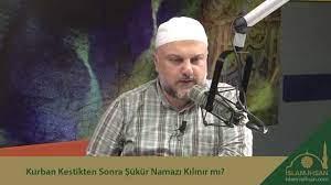 Kurban Kestikten Sonra Şükür Namazı Kılınır mı? - YouTube
