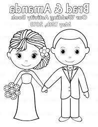 Free Printable Wedding Coloring Pages Hk42 Printable Personalized