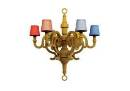 paper chandelier l patchwork lámpara de suspensión moooi