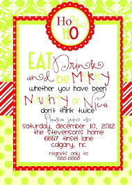 Office Holiday Party Invitation Wording As Corporate Christmas ...