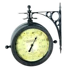 waterproof outdoor clocks garden clock thermometer combo large outdoor clock clocks waterproof and thermometer set improve waterproof outdoor clocks