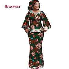 <b>Hitarget 2018</b> New <b>African</b> Loose Kanga Dresses For Women ...