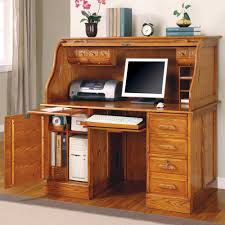 Image of: Ideas Roll Top Computer Desk