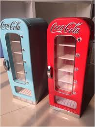 Coca Cola Mini Vending Machine Delectable Retro Refrigerator In The Style Of The Vending Machine With Capacity