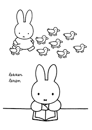 Miffy Coloring Pages Miffy Party Miffy Coloring Pages Color
