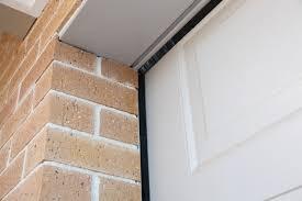garage door water dam with thermadoor door seals and sectional top sides 1 door dam floor