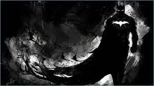 Dark Knight Monochrome 8k Superheroes ...